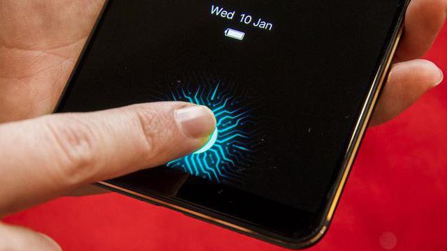 Công nghệ cảm biến vân tay dưới màn hình