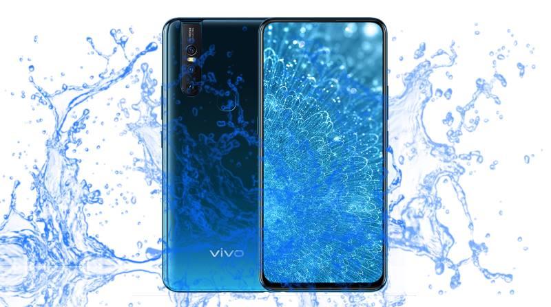 khả năng chống nước vivo s1