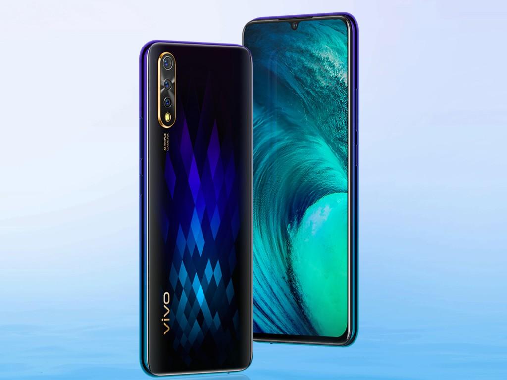 Thiết kế smartphone vivo S1