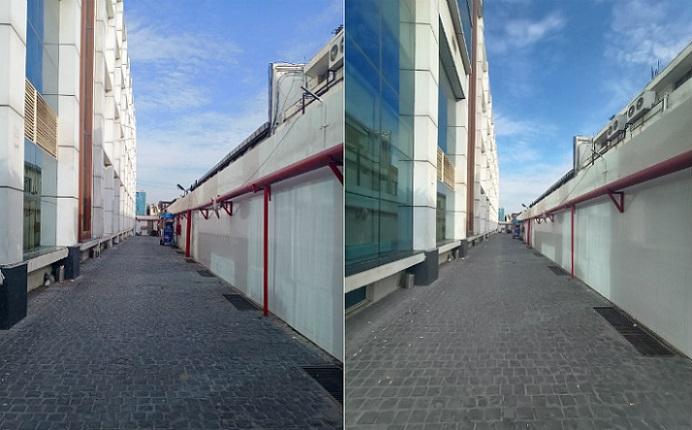 So sánh ảnh chụp chế độ thường và chế độ góc siêu rộng 2