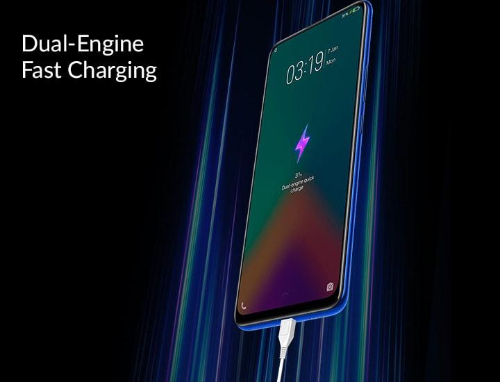 công nghệ sạc nhanh Dual Engine