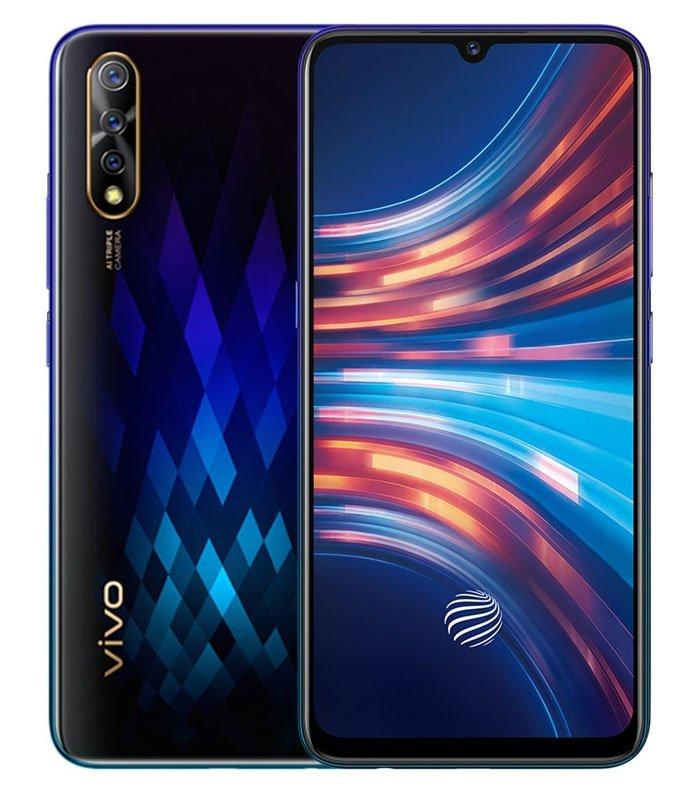 Thiết kế tinh tế của điện thoại vivo S1