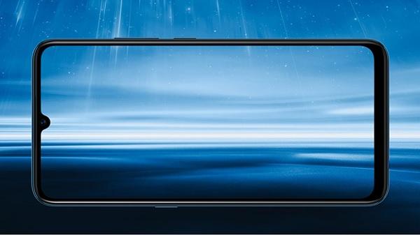 Màn hình tràn viền của điện thoại vivo S1