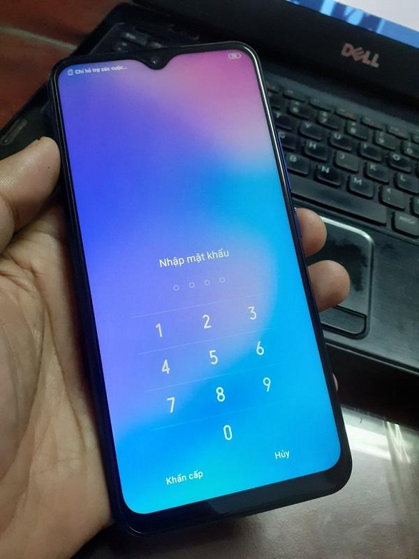 Mật khẩu màn hình điện thoại vivo Y15