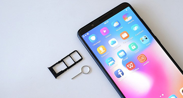Thẻ nano SIM được sử dụng trên điện thoại vivo chứ không phải là micro sim