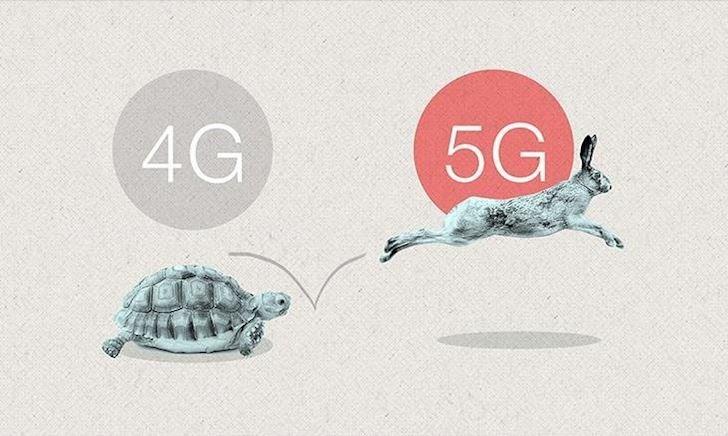 so sánh mạng 4g và 5g