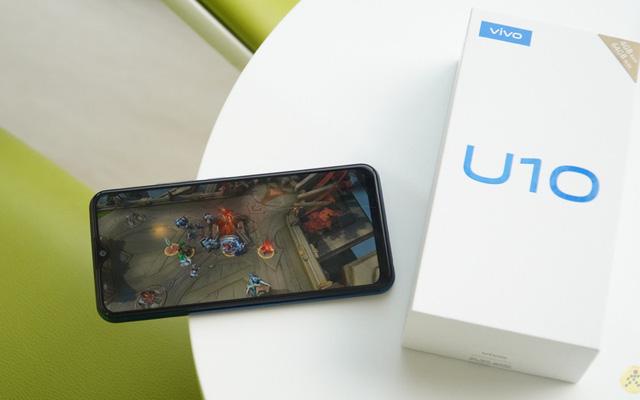 chơi game trên điện thoại 2 sim giá rẻ vivo U10