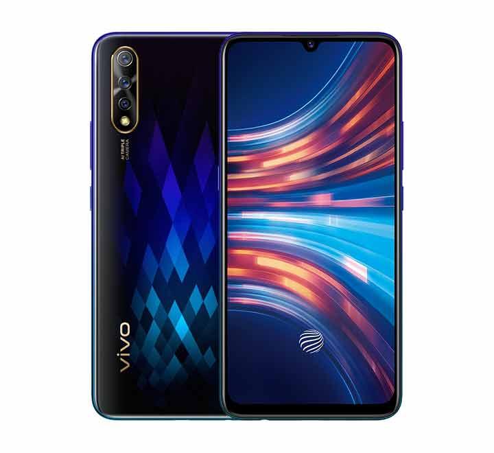 Hiệu ứng chuyển màu độc đáo trong thiết kế điện thoại vivo S1