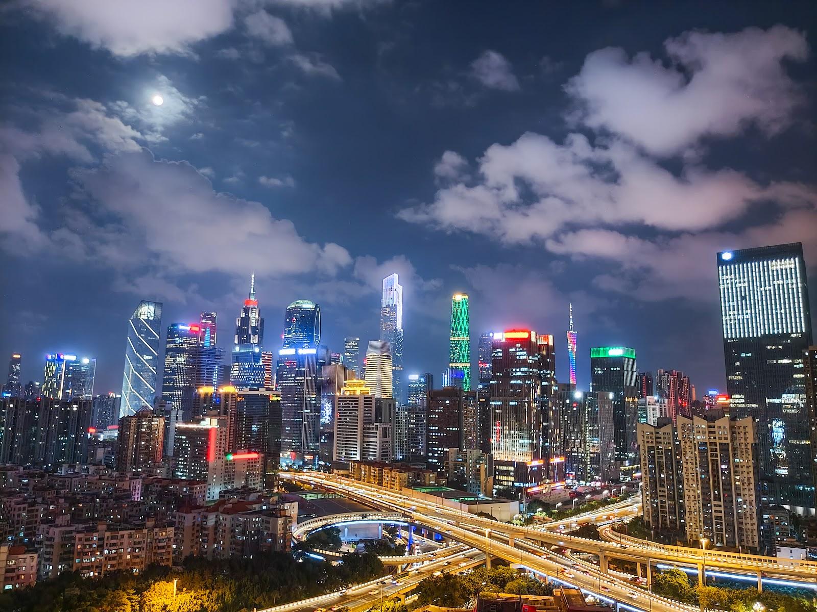 Ảnh toàn cảnh thành phố chụp bằng vivo 5G X50 Pro