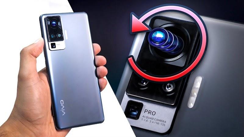 Camera Gimbal chống rung cực đã trên vivo X50 Pro
