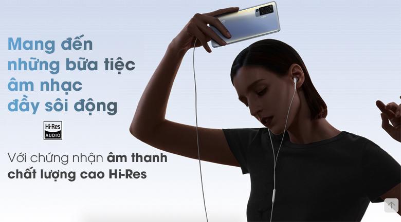 Chất lượng âm thanh là một điểm mạnh của vivo X50 Pro