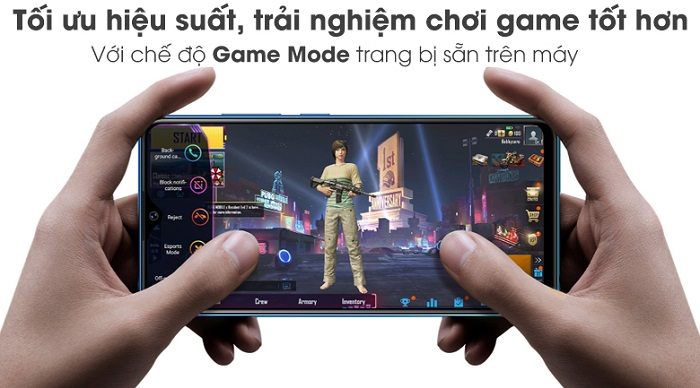 tính năng ultra game mode tối ưu hiệu suất chơi game trên vivo y17